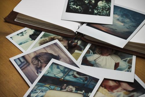photo album memories family