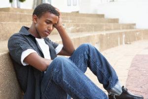emotional stress anxiety worry man boy